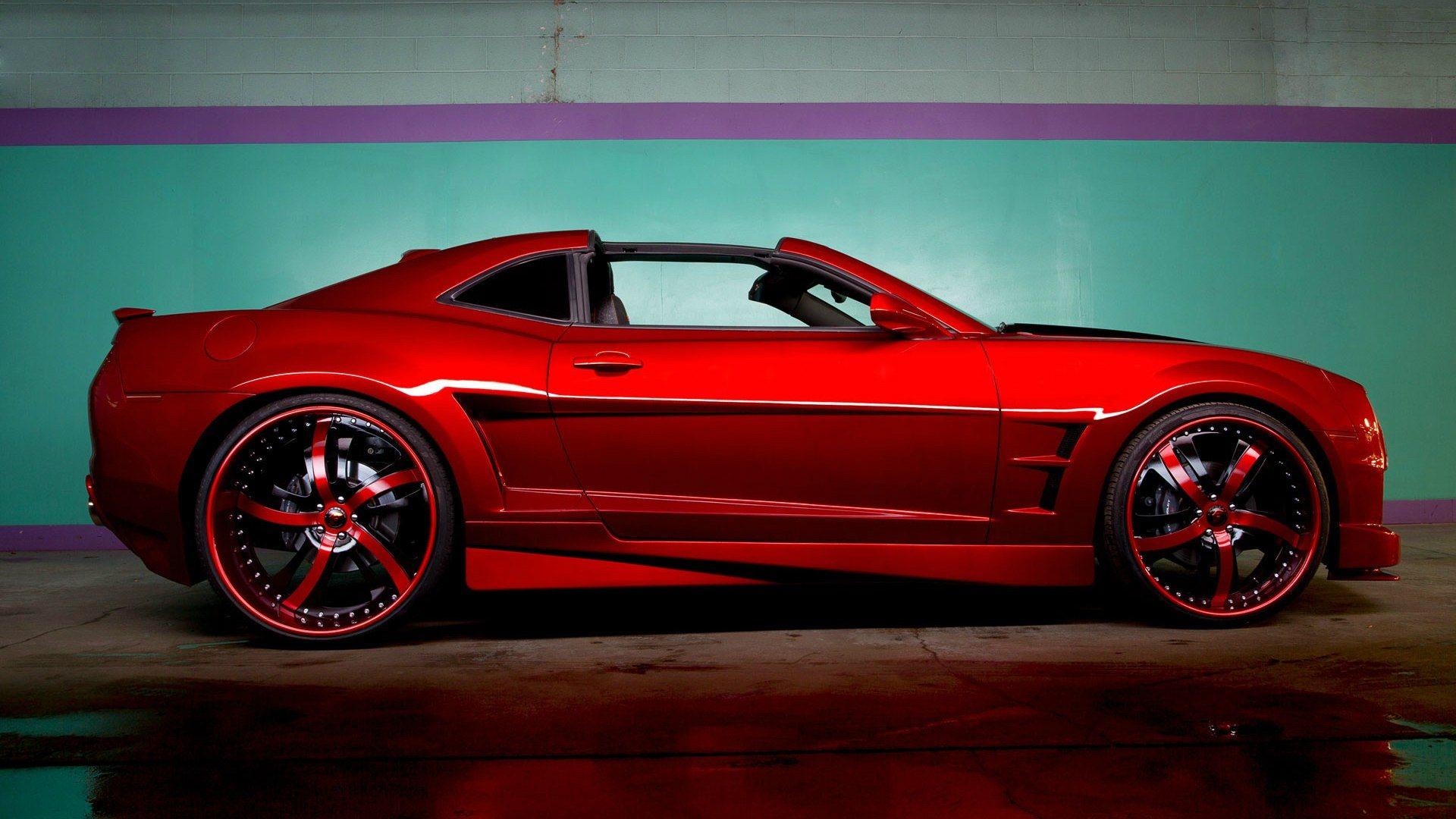 Обои колёса, Chevrolet camaro, полосы, диски, асфальт, шевроле камаро. Автомобили foto 17
