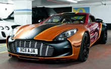 Aston Martin One-77, Астон Мартин, Bentley Continental, Range Rover, Тюнинг, стоянка, передок