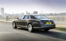 Новый Bentley Mulsanne 2015 в Лос-Анджелесе