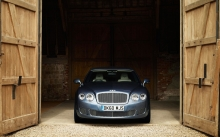 Bentley Continental Flying Spur Series 51 появляется в воротах