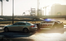 Need for Speed Most Wanted, NFS MW 2012, Серый BMW M3, Купе, Police, стройка, погоня