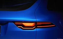 Задние фонари Jaguar C-X17 Concept, Sports Crossove, Ягуар C X17, оптика, фары, концепт