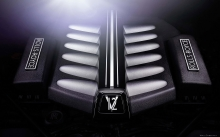 Двигатель V12 под капотом Rolls-Royce Ghost V