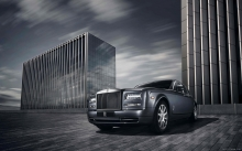 Передок, хром, решетка, Rolls-Royce Phantom Metropolitan Collection, 2015
