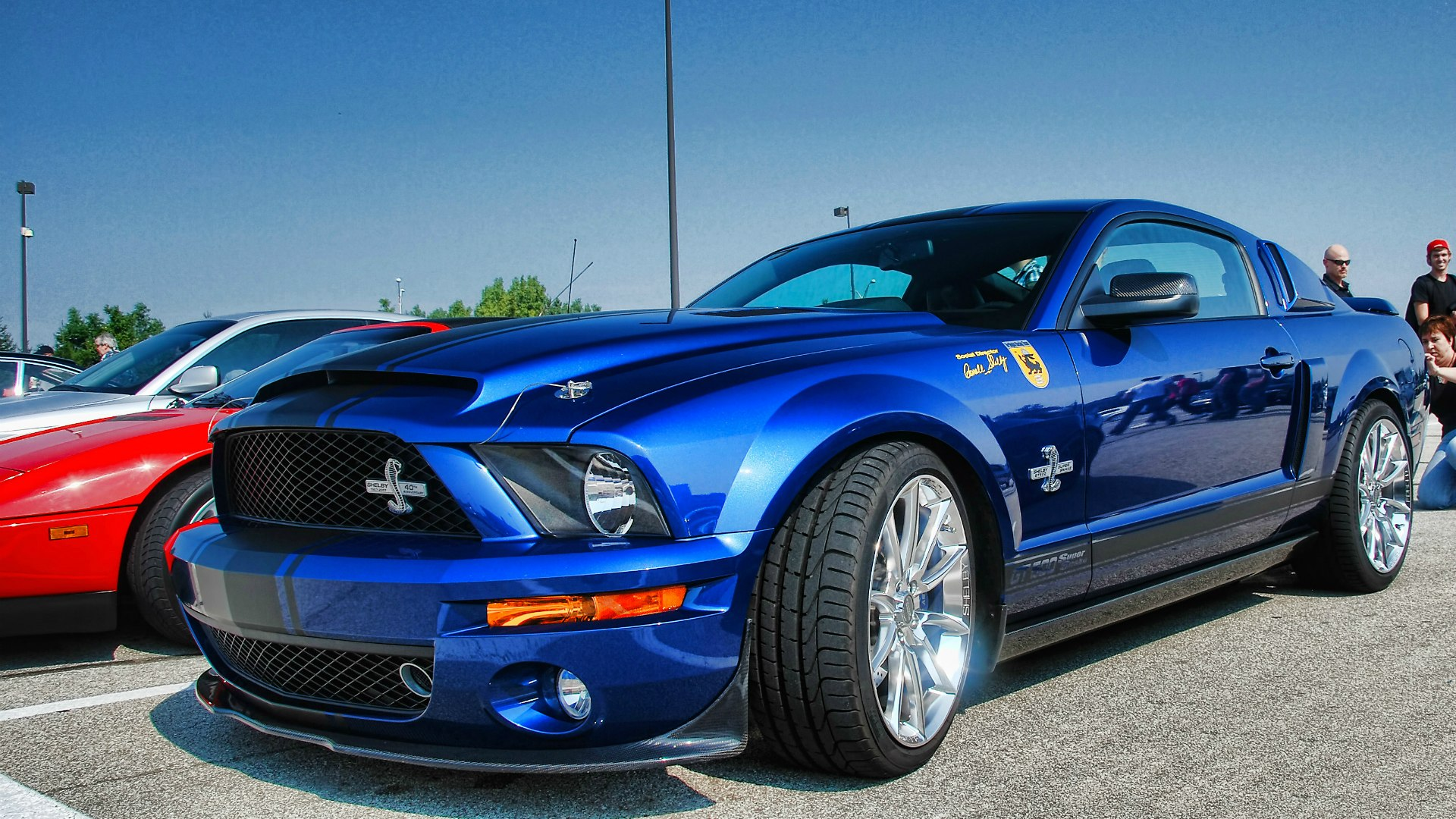 Зеркальный Ford Mustang Shelby GT500 Super Snake