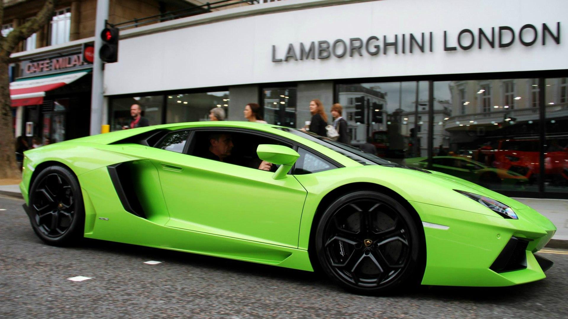 Lamborghini aventador 2007