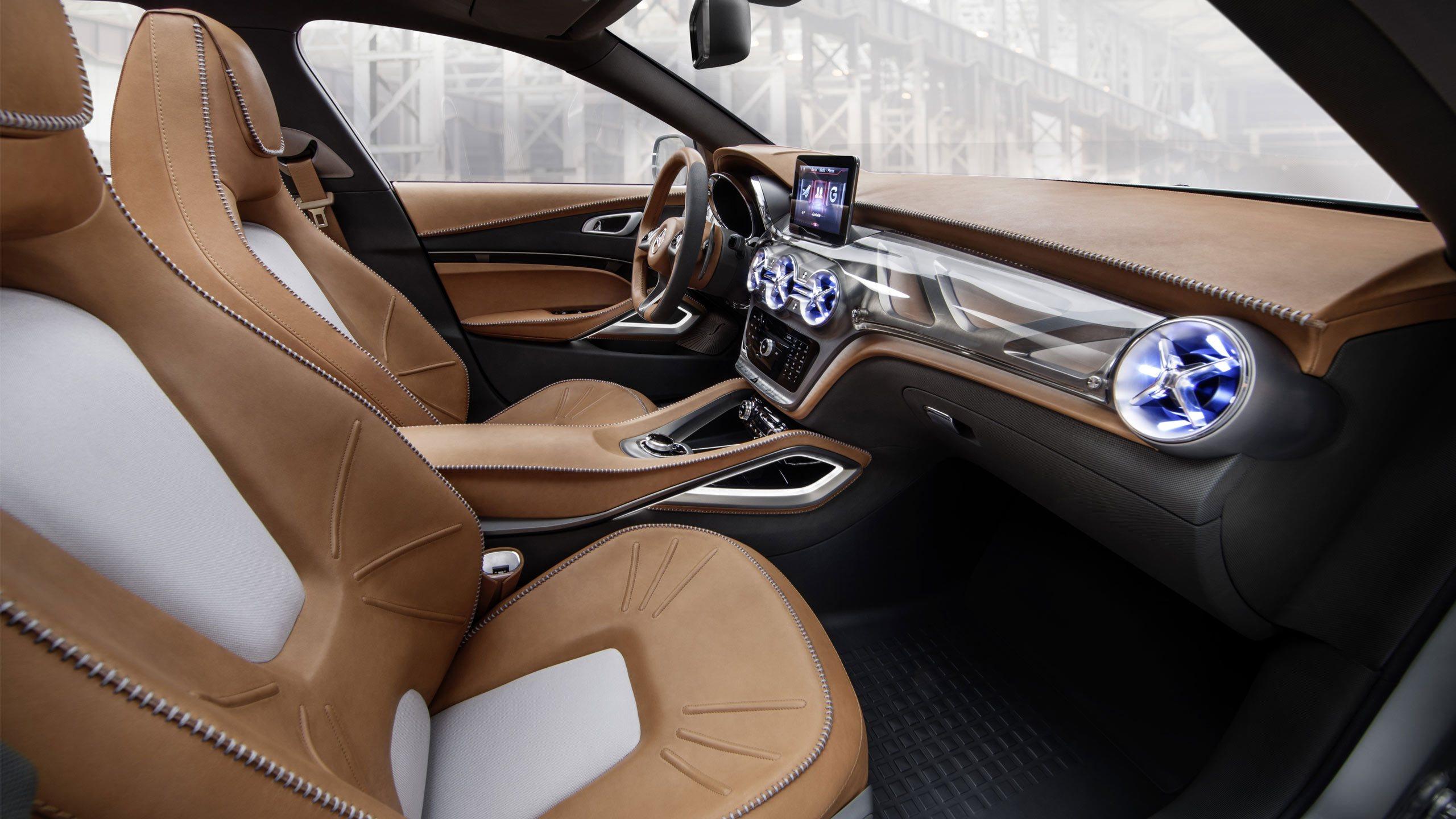 Mercedes benz интерьер