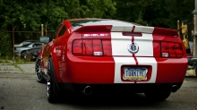 форд мустанг вид сзади #10
