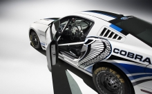 Ford Mustang Cobra Jet Twin Turbo, Ford Racing, Twin Turbo, дверь, светлый фон, кобра