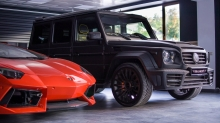 Mercedes G-class by Mansory and Lamborghini Aventador