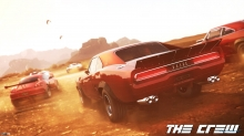 The Crew, Game, Игра, Dodge, Muscle Car, Додж, Мускул Кар, пустыня, гонка