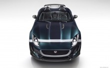 Анфас, Jaguar F-Type Project 7, Ягуар Проект 7, Фото Ягуара, фары, оптика, капот, решетка радиатора, спереди