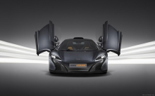 Doors, McLaren 650S Le Mans, 2015, dark, headlights, hood, open, srudio