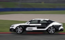 Новая Audi RS7 Piloted Driving Concept без водителя